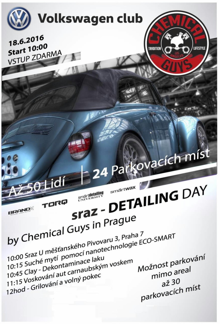 pozvanka chemicalguys program